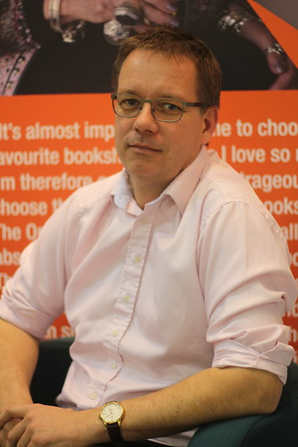 Tim Walker (Bookseller's Association) - London Book Fair 2014