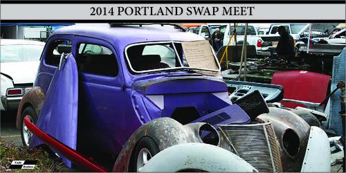 2014 Portland Swap Meet including Plymouth Cuda for sale