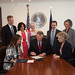 "Governor McAuliffe Signs the HB1096 Bill ""Return to Learn Protocol"""