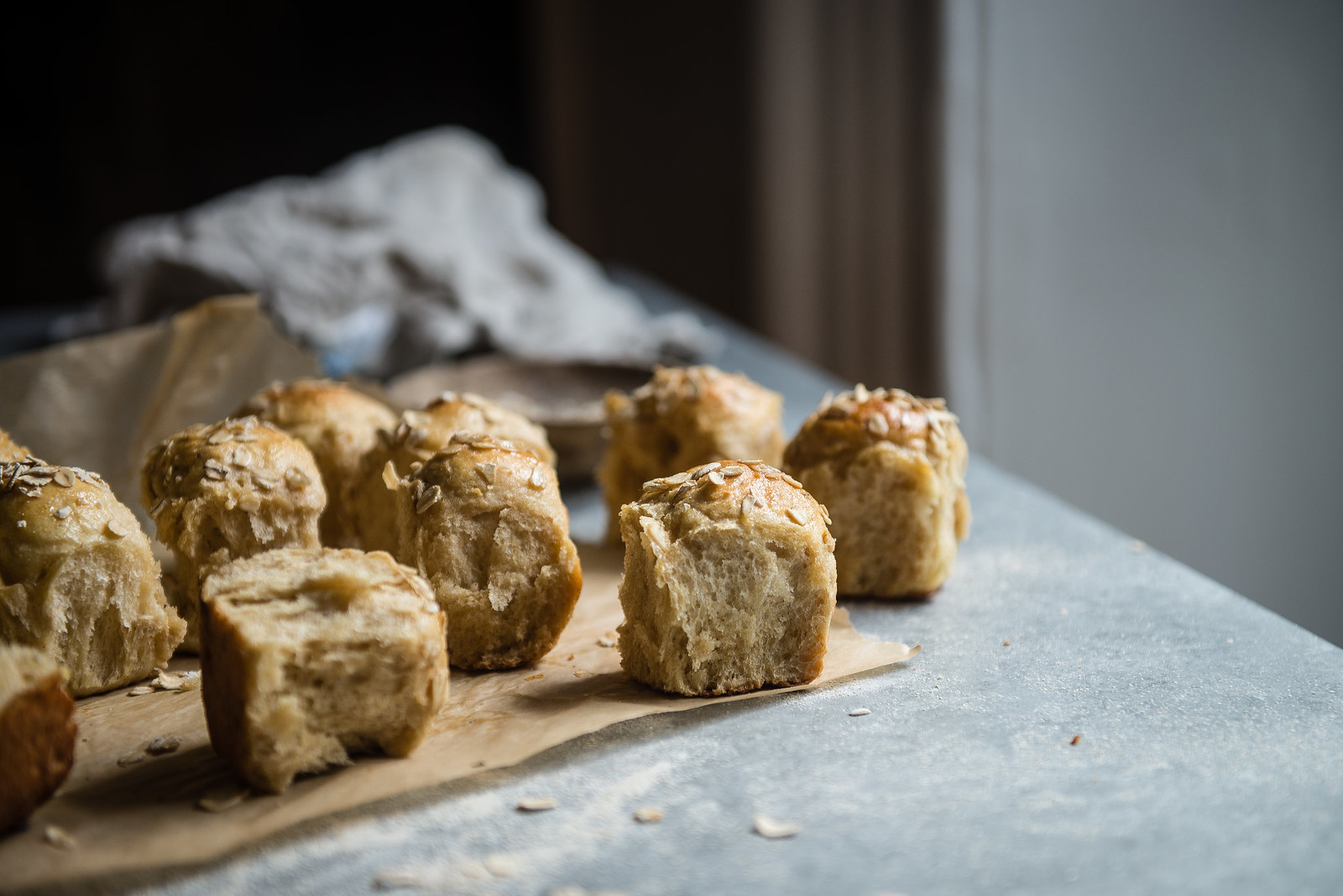 whole wheat milk bread (& little sliders) | two red bowls