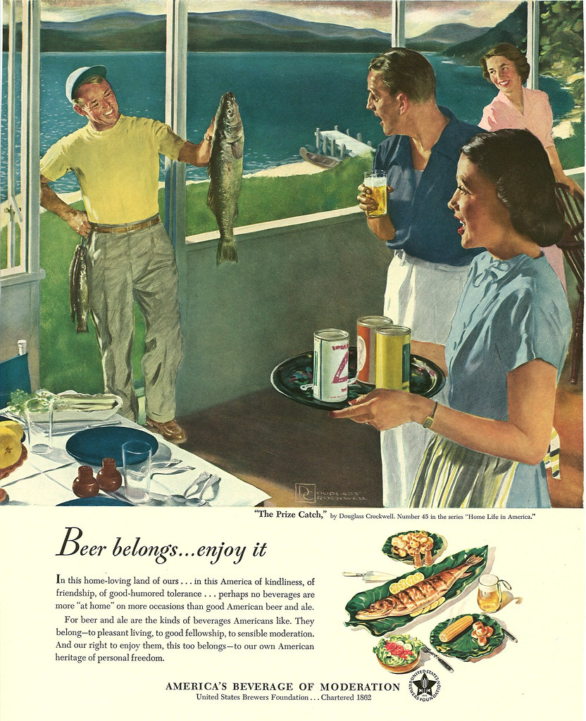 045. The Prize Catch by Douglass Crockwell, 1950
