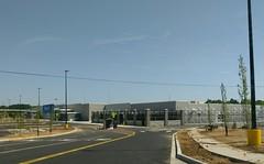 Main entrance at garden center