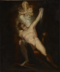 John Milton's Paradise Lost, Satan and the Birth of Sin (Book II, 746-758) Painting no. 6 from The Milton Gallery by HENRY FUSELI