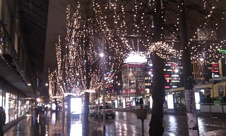 Helsinki Christmas lights
