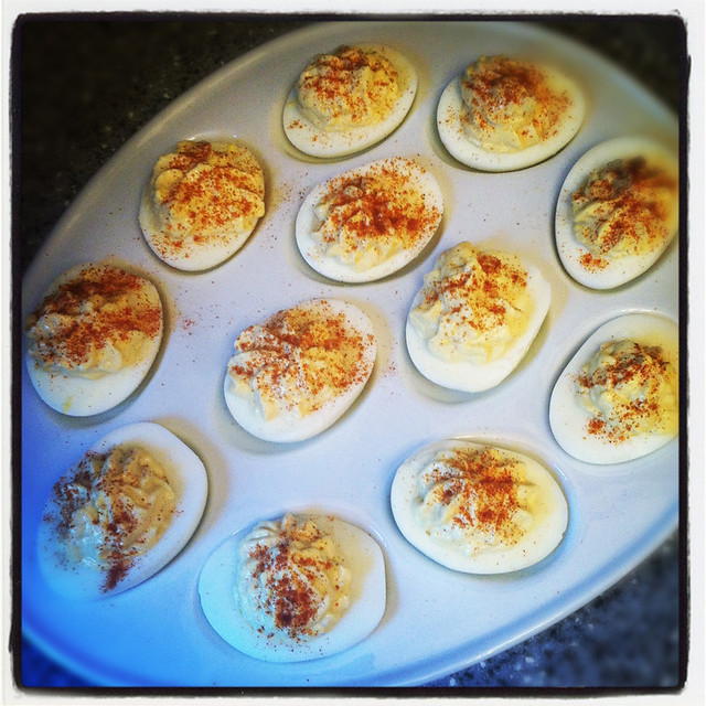 Thanksgiving: Deviled Eggs