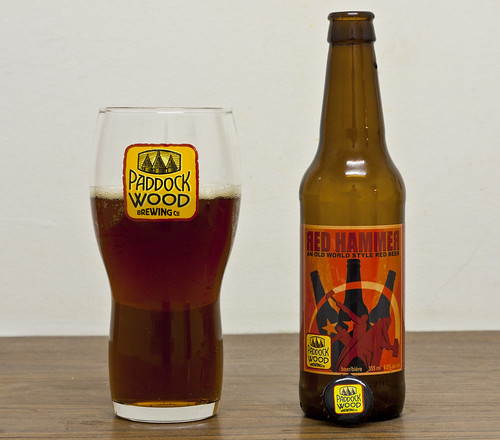 Review: Paddock Wood Red Hammer Old Style Red Beer by Cody La Bière