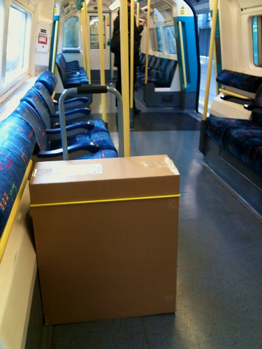 Empty Box on a Nearly Empty Tube