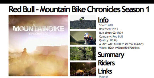 Red Bull   Mountain Bike Chronicles Season 1   XVZ
