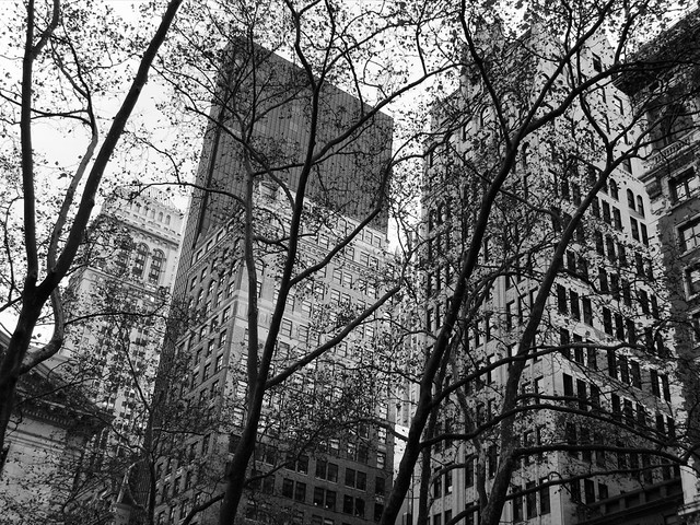 Buildings south of Bryant Park