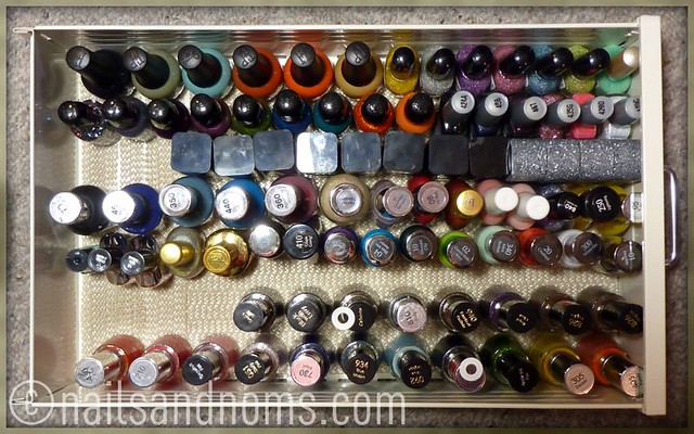 Rie's Polish Stash - 5th Drawer (as of 11/28/11)