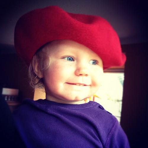 Rullar hatt.