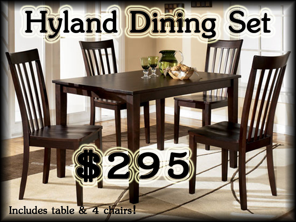 Hyland Casual  Dining Set