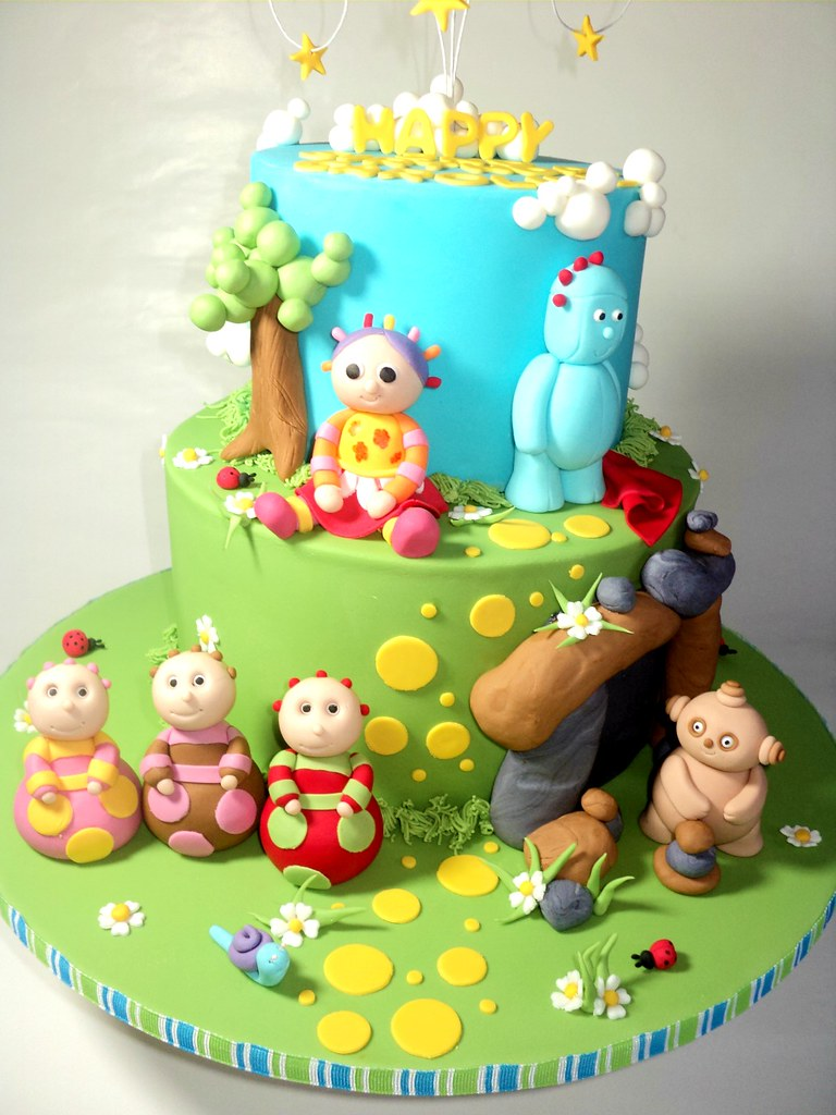 Little wish cakes 39 s most recent flickr photos picssr for In the night garden cakes designs