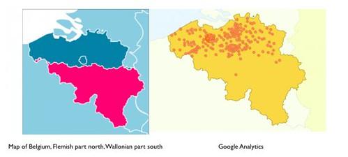 A divided Belgium