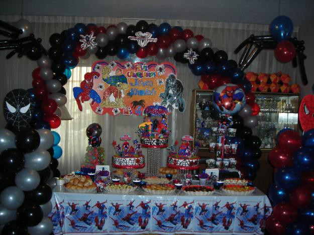 Decoracion Fiesta Grado Hombre ~ DECORACION DEL HOMBRE ARA?A 2  Flickr  Photo Sharing!