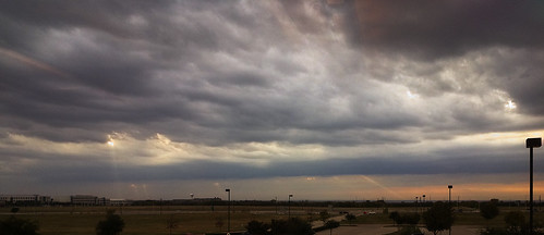Scudding Clouds, Frisco texas by colette_noir