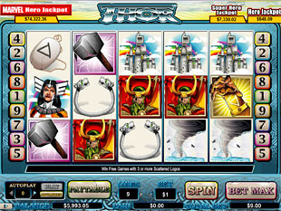 Thor slot game online review