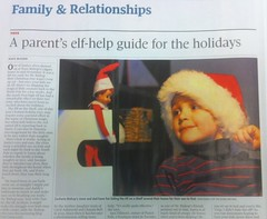 Globe and Mail - Elf on Shelf