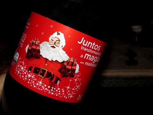 2011 Coca-Cola pet 2 Litros Christmas Natal Brazil by roitberg