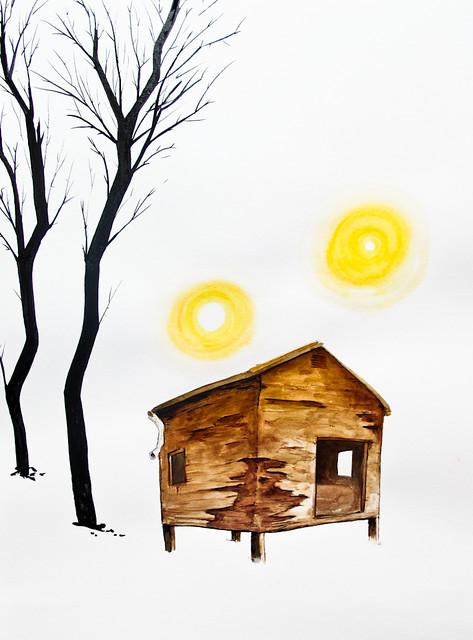 House & Orbs