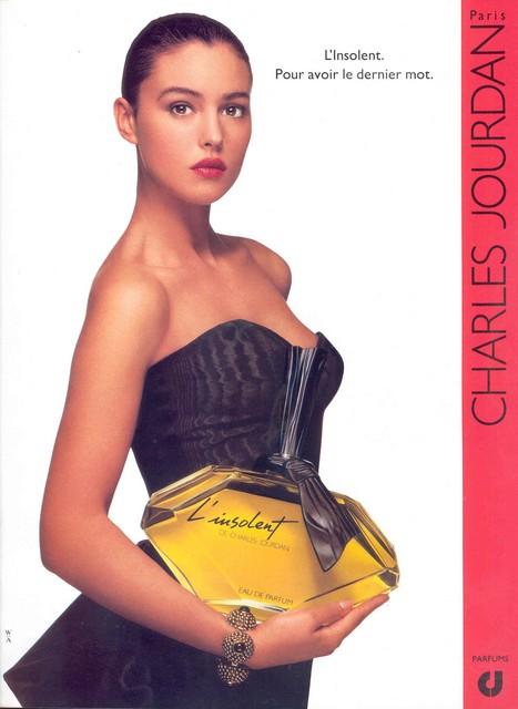 Monica Bellucci - Charles Jourdan perfume - L'insolent