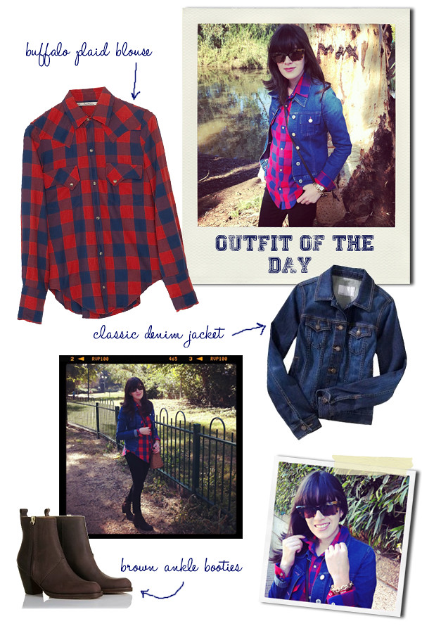plaid_blouse_denim_jacket_fashionpea