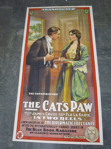 The Cat's Paw poster- version 2