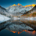 Maroon Bells Sunrise, Colorado Rockies by kevin mcneal