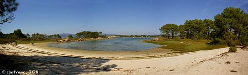 Praias de Carreirón (A Illa de Arousa, Pontevedra)