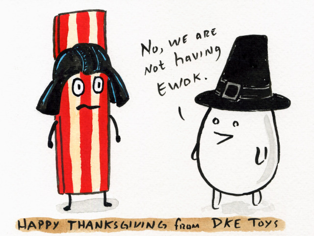 Happy Thanksgiving from DKE by Dan Goodsell 2011