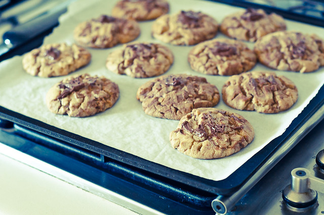 Peanut Nutella Cookies-14