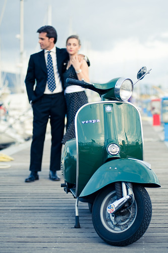 Vespa 50-th by Anna.Khatskevich