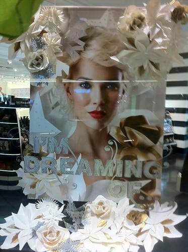 Sephora paper flowers