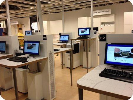 Kitchen planning hub at the new Ottawa Ikea