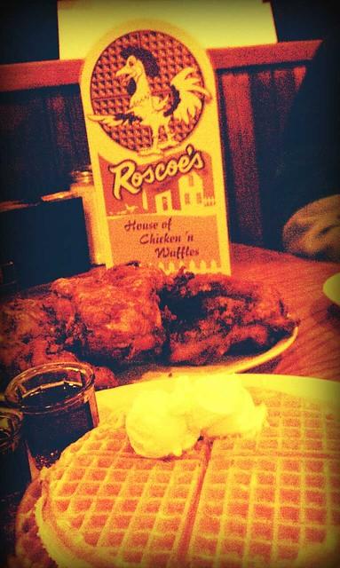 roscoes chicken waffles hollywood