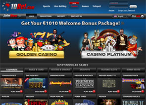 10Bet Casino Home