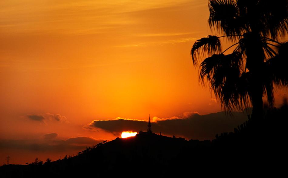 Posta de sol a Sant Pere Martir