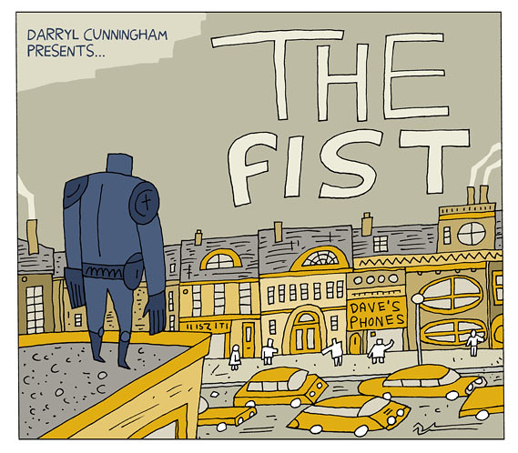 Fist Title Frame