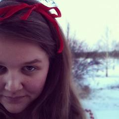 Äntligen snö i Bollnäs! ⛄