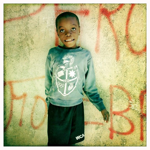Haitian boy - Jérémie -