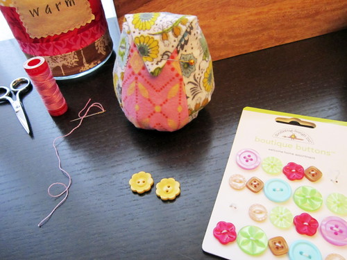 buttons from Sew Love Fabrics!