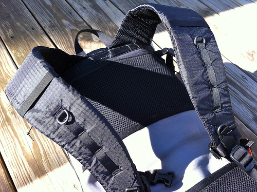 Gossamer Gear Gorilla pack with custom harness