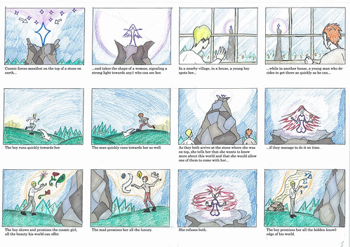 The Pure and The Tainted - Storyboard 1/3