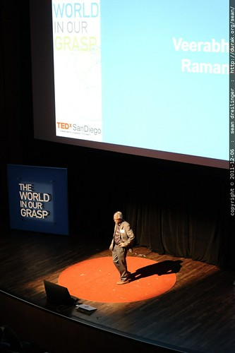 Veerabhadran Ramanathan of Scripps Institution of Oceanography speaks to TEDxSanDiego    MG 3787