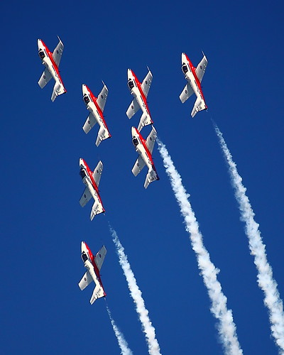 IMG_2215 Snowbirds of Royal Canadian Air Force by ThorsHammer94539