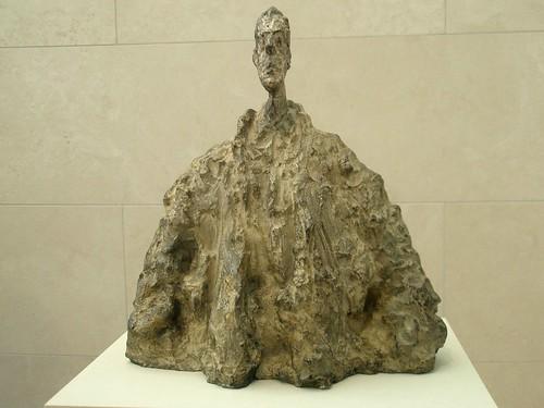 Alberto Giacometti 'Diego in a Cloak' (Diego au manteau) by hanneorla