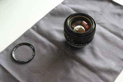 Cleaning a Canon FD 55 f1.2 SSC - 03 - _IGP6176