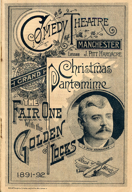 The Fair One with the Golden Locks, Comedy Theatre, 1891