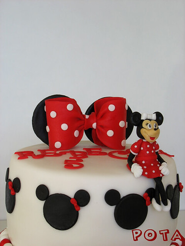 gâteau minnie mouse cake minnie mouse