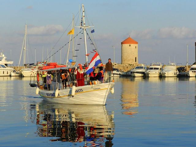 Sinterklaas in Rhodos